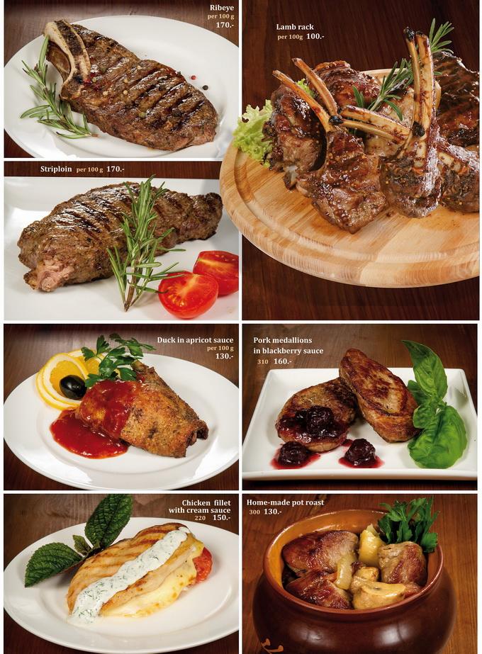 Вторые мясные блюда 2 англ